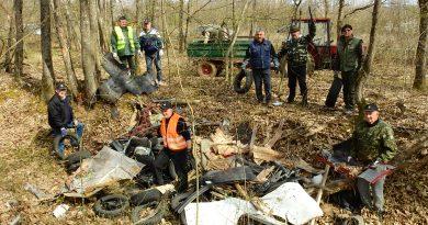Bivši branitelji sanirali divlju deponiju komunalnog otpada