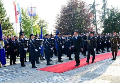 Predsjednik Republike Hrvatske uručio odlikovanja djelatnicima MUP-a povodom Dana policije