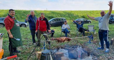 Ribolov u Dolini i veselo druženje slavonskih kuglača iz Austrije